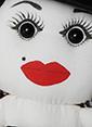 LSV Dükkan Tülin Şahin Tasarımı Bez Bebek Renkli